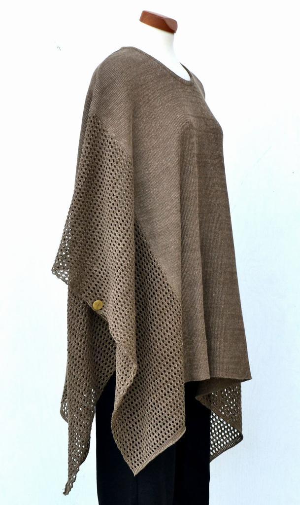 Poncho Linen Scarves Amp Ponchos Linen Garments Womens