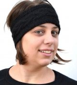 1155 Headband with cable pattern