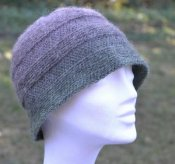 1167 Cloche in slip stitch crochet