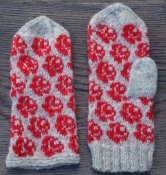 1263 Mittens roses