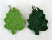 "Key ring ""Leaf"""