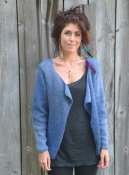 1619 Cardigan with big lapels