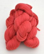 6/2-1161 Salmon Pink on white wool