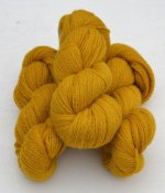 6/2-2131 Lion Yellow on white wool