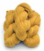 6/2-2141 Soft Lion yellow on white wool