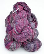 *6/2-01 Cerise/Purple/Grey variegated