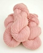 6/2-1201 Soft Pink on white wool