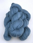6/3-4141 Nordic Blue on white wool