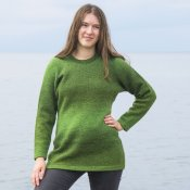 3007 - Sweater in solid colour