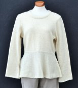 3081 - Flared sweater with crew neck