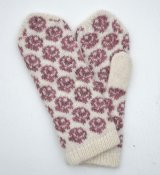 "3426/19 - Mitten ""Small roses"""