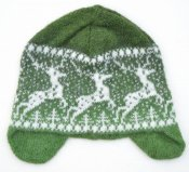 "3528 - Cap with ear-flaps ""Deer"""