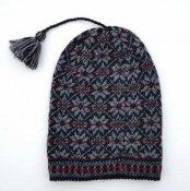 "3539 - Beanie ""Star"" with tassel"