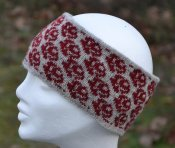3572 - Headband 'Small Rose'