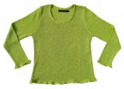 5044 - Linen sweater in elastic knitting