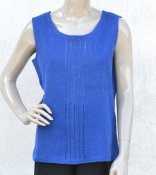 5065 - Top with striped front
