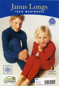 Child's Long Johns blue