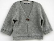 3137 - Cardigan short with one button
