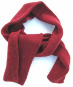 3635 - Scarf in double knit