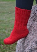 """Raggsocka"" red (Bargain)"