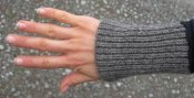 3421 - Wrist warmer ribbed