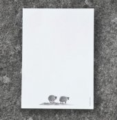 "Note Pad ""Two lamb"""