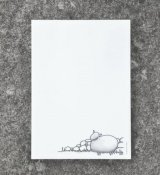"Note Pad ""Sheep and stone wall"""
