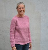 1566 Sweater in linen and wool