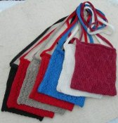 Knitted party bag