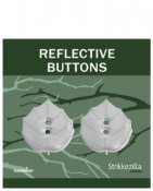 Reflective button 'Hazel leaf'