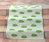 Blanket Roses Medium 90x130 cm (Green/White)