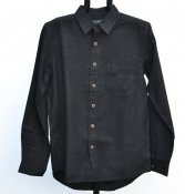Shirt hemp black
