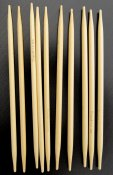 Knitting needles double pointed 13 cm