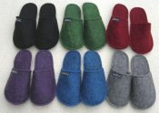 Felted Wool Slippers size 35-46