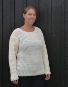 1563 Sweater in brioche