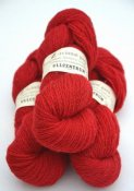 Z-1101 Red on white wool