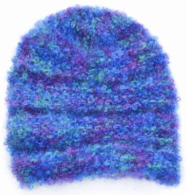 1156 Beanie In Mohair Boucl Headgear Patterns Wool Knitting