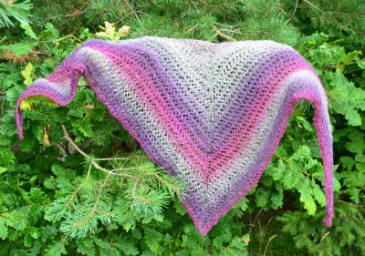 Baltic Breeze shawl