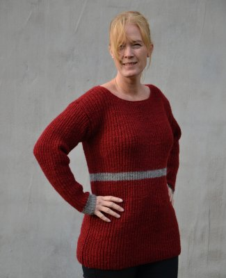 8ce0b30c5c 1567 Army style sweater - Sweaters   waistcoats - Patterns wool - Knitting    Crochet Patterns - Ullcentrum.com