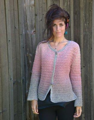 "059767eb7b32c 1621 Jacket ""Chanel"" - Cardigans - Patterns wool - Knitting   Crochet  Patterns - Ullcentrum.com"