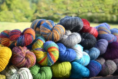2-ply wool bundle for weavers 1 kg