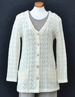3130 - Cardigan with V-neck