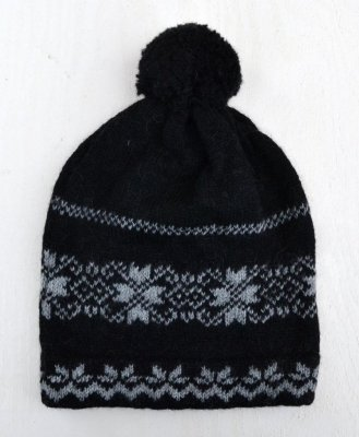 "3540 - Beanie ""Star"" with pom pom"