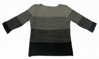 5023 - Linen sweater with 3/4-length sleeves