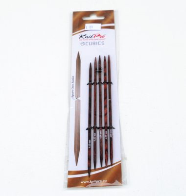 KnitPro Cubics double pointed needles