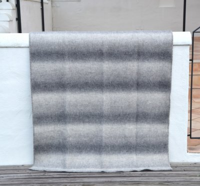 "Blanket ""Grey variegated"" 180x130 cm"