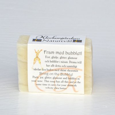 Bring on the Bubbly! Natural Soap