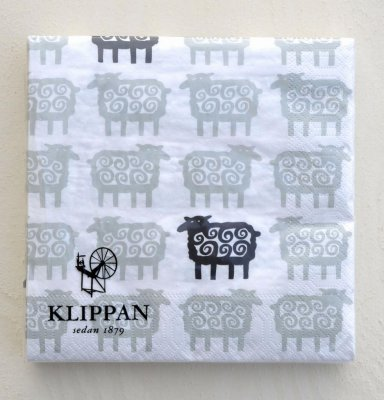 "Napkin ""Black Sheep"""
