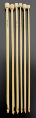 Tunisian crochet hooks, long single 32 cm