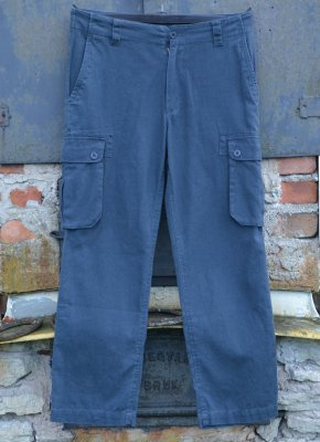 Hemp trousers with pockets